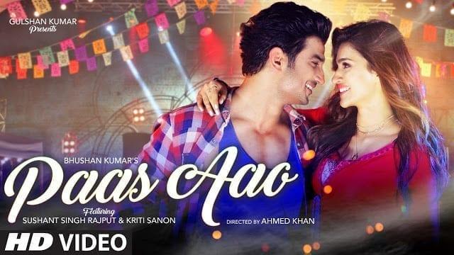 Paas Aao Song Lyrics   Sushant Singh Rajput Kriti Sanon
