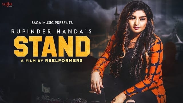 STAND Lyrics : Rupinder Handa (Official Video) | New Punjabi Song 2017 | Saga Music