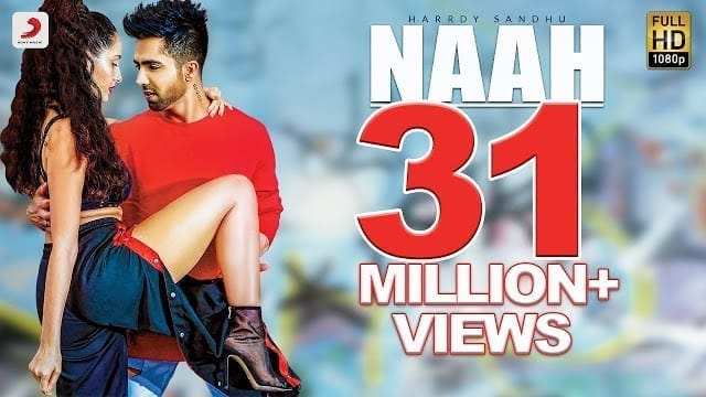 Naah Lyrics | Harrdy Sandhu Feat. Nora Fatehi | Jaani | B Praak |Official Music Video-Latest Hit Song 2017