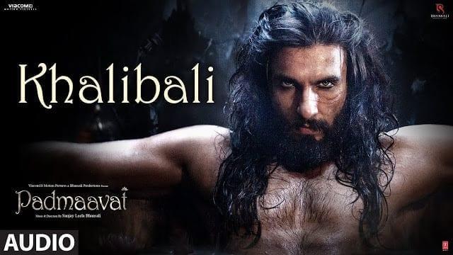 Padmaavat: Khalibali Lyrics   Full Audio Song   Deepika Padukone   Shahid Kapoor   Sanjay Leela Bhansali