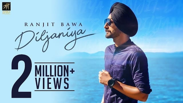 Diljaniya Lyrics | Ranjit Bawa | Jay K | Official Music Video | Humble Music