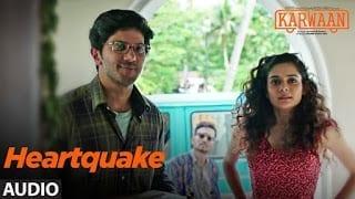 Heartquake Song Lyrics | Karwaan | Irrfan Khan, Dulquer Salmaan, Mithila Palkar | Papon