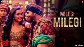 Milegi Milegi Lyrics   STREE   Mika Singh   Sachin-Jigar   Rajkummar Rao, Shraddha Kapoor