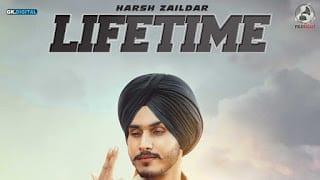 Lifetime Lyrics | Harsh Zaildar | Vicky Dhaliwal
