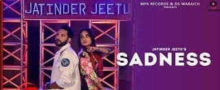 Sadness Lyrics | Jatinder Jeetu  | B Vik | Latest Punjabi Songs 2018 | Mp4 Records