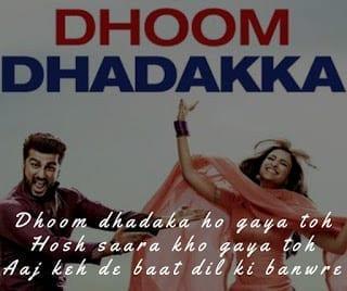 Dhoom Dhadakka Lyrics song from the movie namaste england
