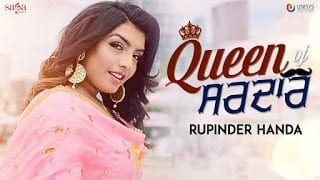 Queen of Sardar Lyrics | Rupinder Handa | MR. WOW