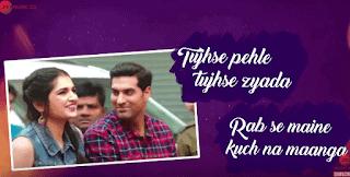 Tujhse Pahle Tujhse Zyada Lyrics | Marudhar Express