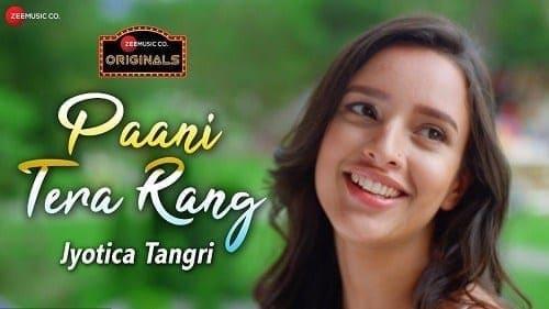 Paani Tera Rang Lyrics | Jyotica Tangri | Amjad Nadeem Aamir