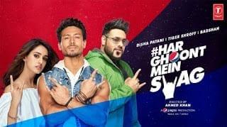 Har Ghoont Mein Swag Lyrics   Badshah   Tiger Shroff   Disha Patani
