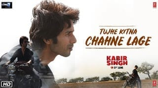 Tujhe Kitna Chahne Lage Song Lyrics | Kabir Singh | Mithoon | Arijit Singh