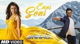 Enni Soni Lyrics - Guru Randhawa | Tulsi Kumar | Saaho