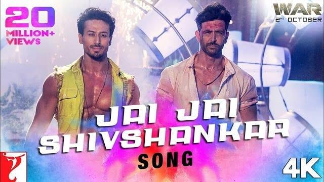 Jai Jai Shivshankar Lyrics - War - Vishal Dadlani, Benny Dayal