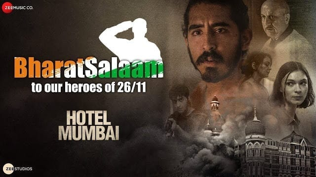 Bharat Salaam Lyrics - Hotel Mumbai - B Praak - Sunidhi Chauhan