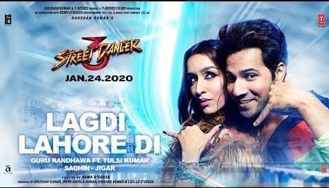 Lagdi Lahore Di Lyrics – Street Dancer 3D - Guru Randhawa