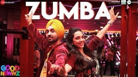 Zumba Lyrics - Good Newwz - Diljit Dosanjh